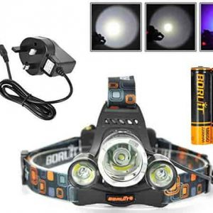 Boruit LED Headlamp