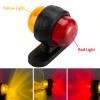 Mini LED Side Marker Rubber Trailer Lights 12v Amber Red