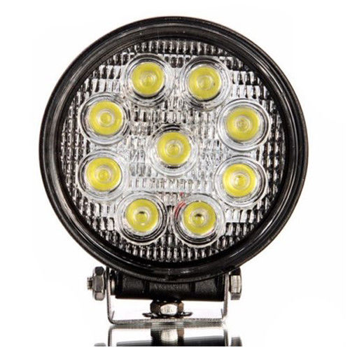27w LED Work Light circular and square also in spot and flood