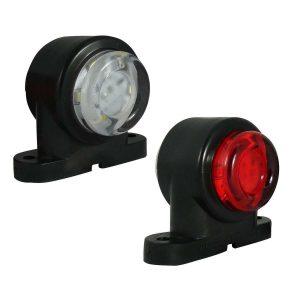 Mini 12v 24v Led Rubber Stalk Marker light for Truck Lorry Van