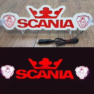 Scania LED Truck Board in Red