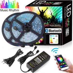 Bluetooth LED Strip full set