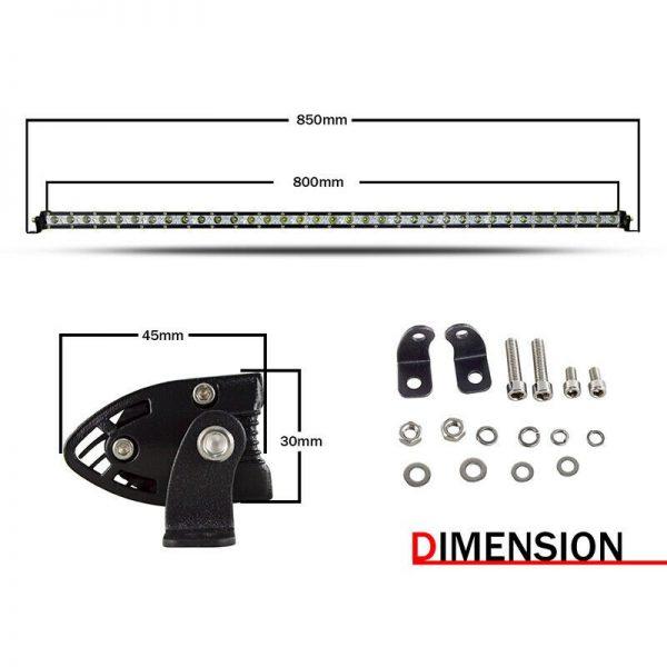 38 Inch 180w Slim LED Lightbar