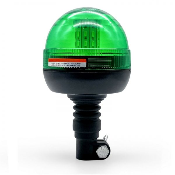 Green Warning Beacon for plany machinery seatbelt tractor