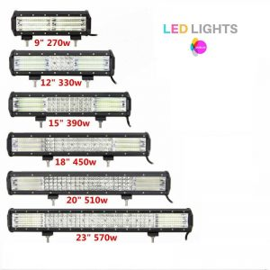 LED Quad Row lightbar Range