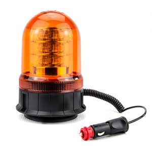 LED Magnetic Beacon with Suction Pad rated to 70MPH
