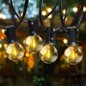 Outdoor String Lights LED for the garden and patio
