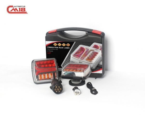 Wireless LED Tail Lights perfect for all Farm Machineery, trucks, Cars, Vans and trailers
